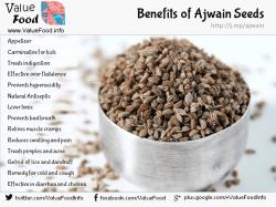 health benefits of ajwain seeds