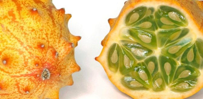 Health benefits of kiwano