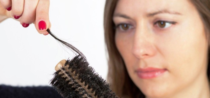 Natural food for hair loss