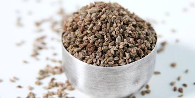 Health benefits of Ajowan or Ajwain Seeds