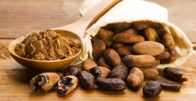Health benefits of raw cacao beans