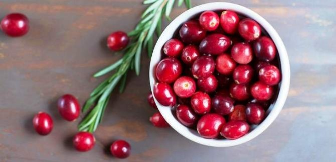Health Benefits of Cranberry