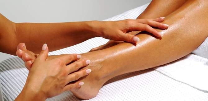 leg massage for varicose veins