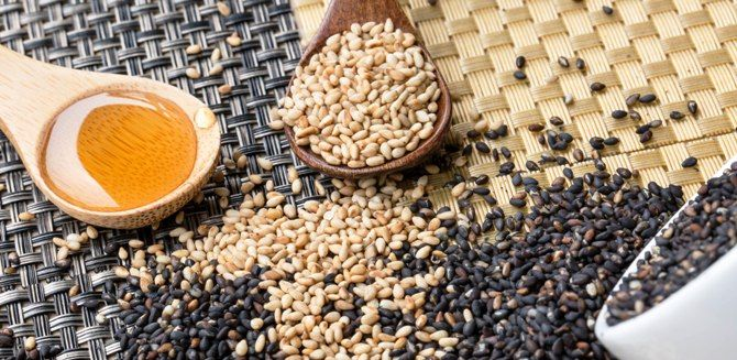 health benefits of sesame seeds and sesame seed oil