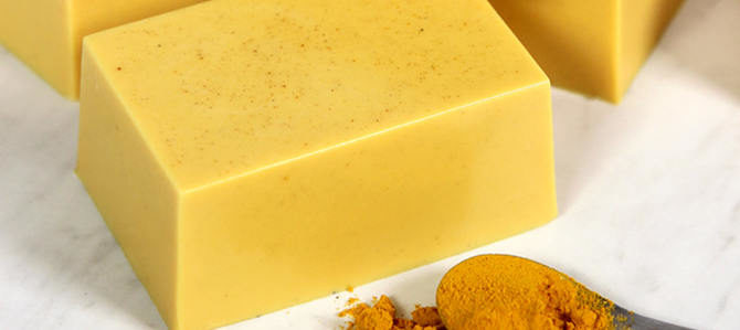 Benefits of Turmeric Soap and How to Make at Home