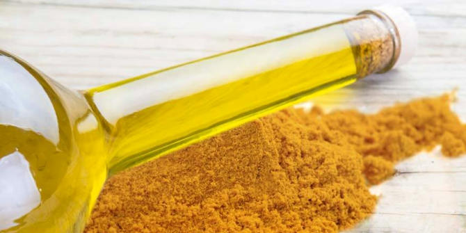health benefits of turmeric oil