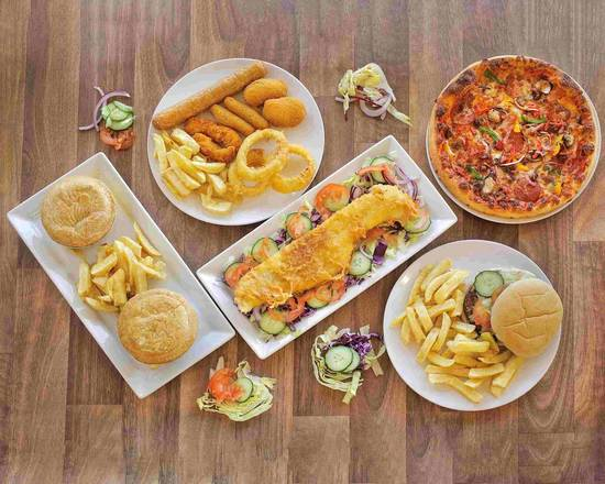 Here Is The Full List Of Fatz Menu With Different Categories