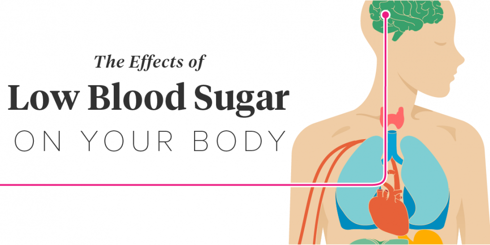 Know what is dangerous in low blood sugar