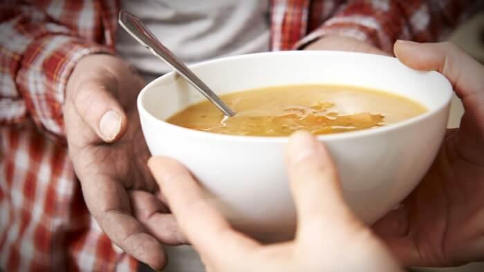 soup kitchen volunteer