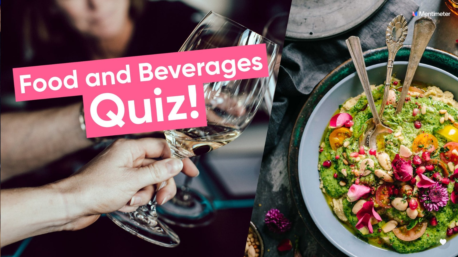 quiz questions food and drink